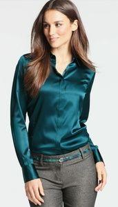 Ann Taylor silk blouse
